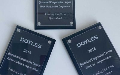 Queensland Compensation Lawyers named again on Doyles List for 2018